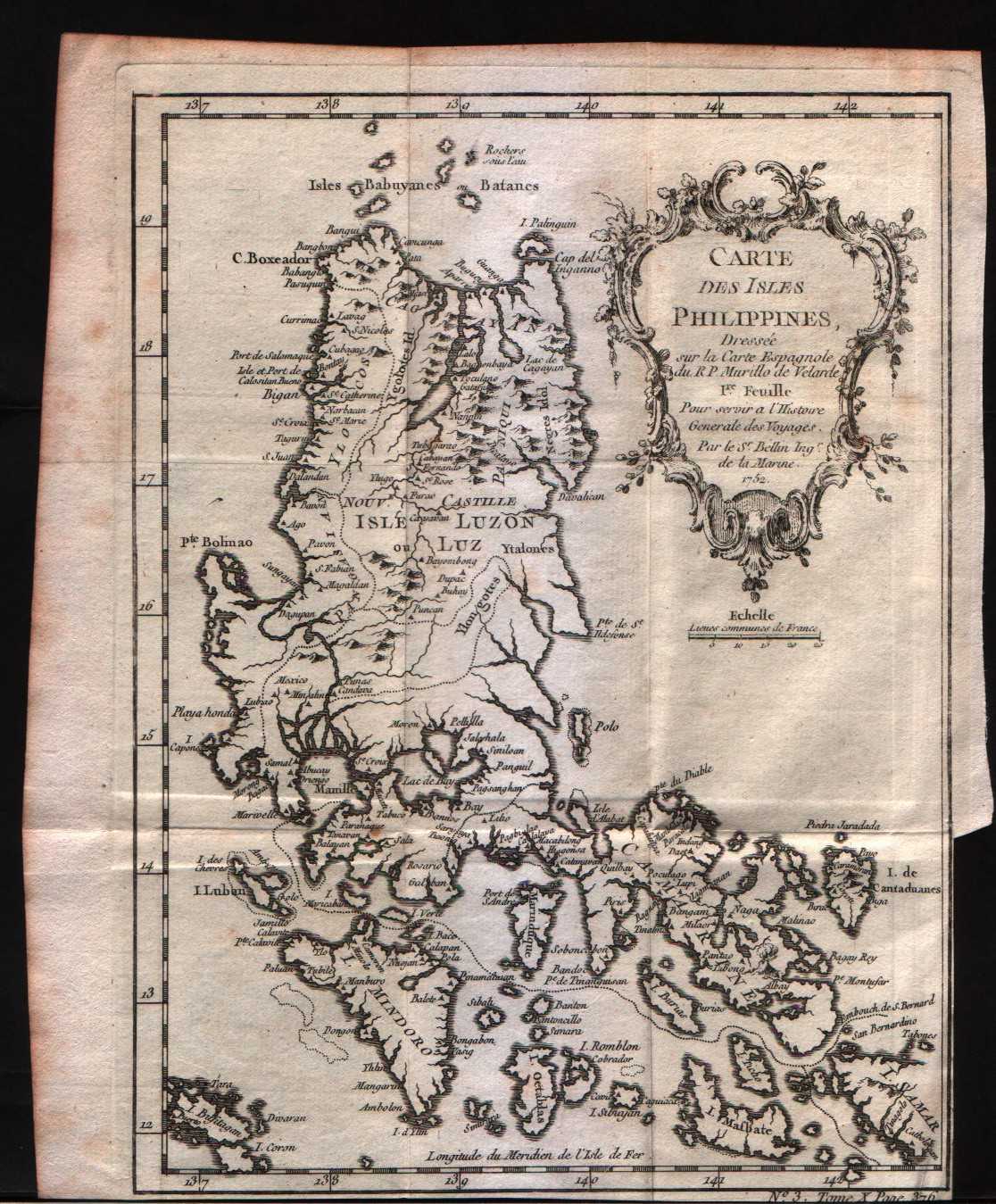 Carte des Isles Philippines 1Feuille