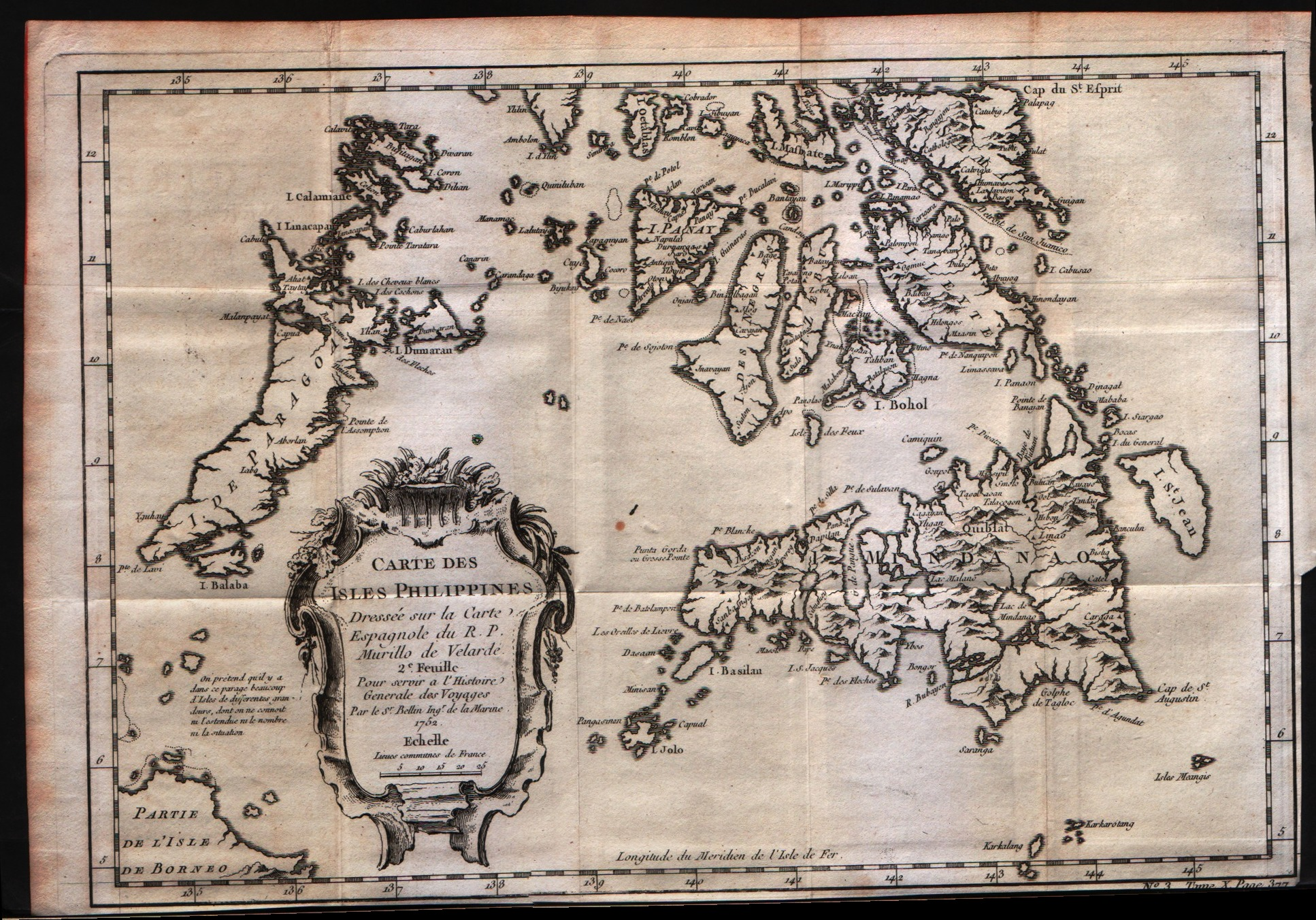 Carte des Isles Philippines 2Feuille
